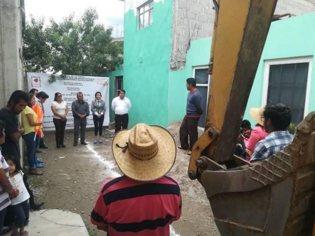 Acercamos más servicios básicos para beneficiar más pobladores: Pluma Morales
