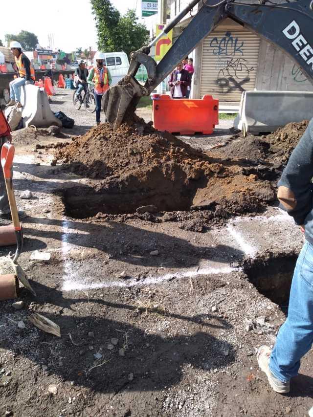 El mantenimiento a la red de agua potable garantiza el suministro: ERJ