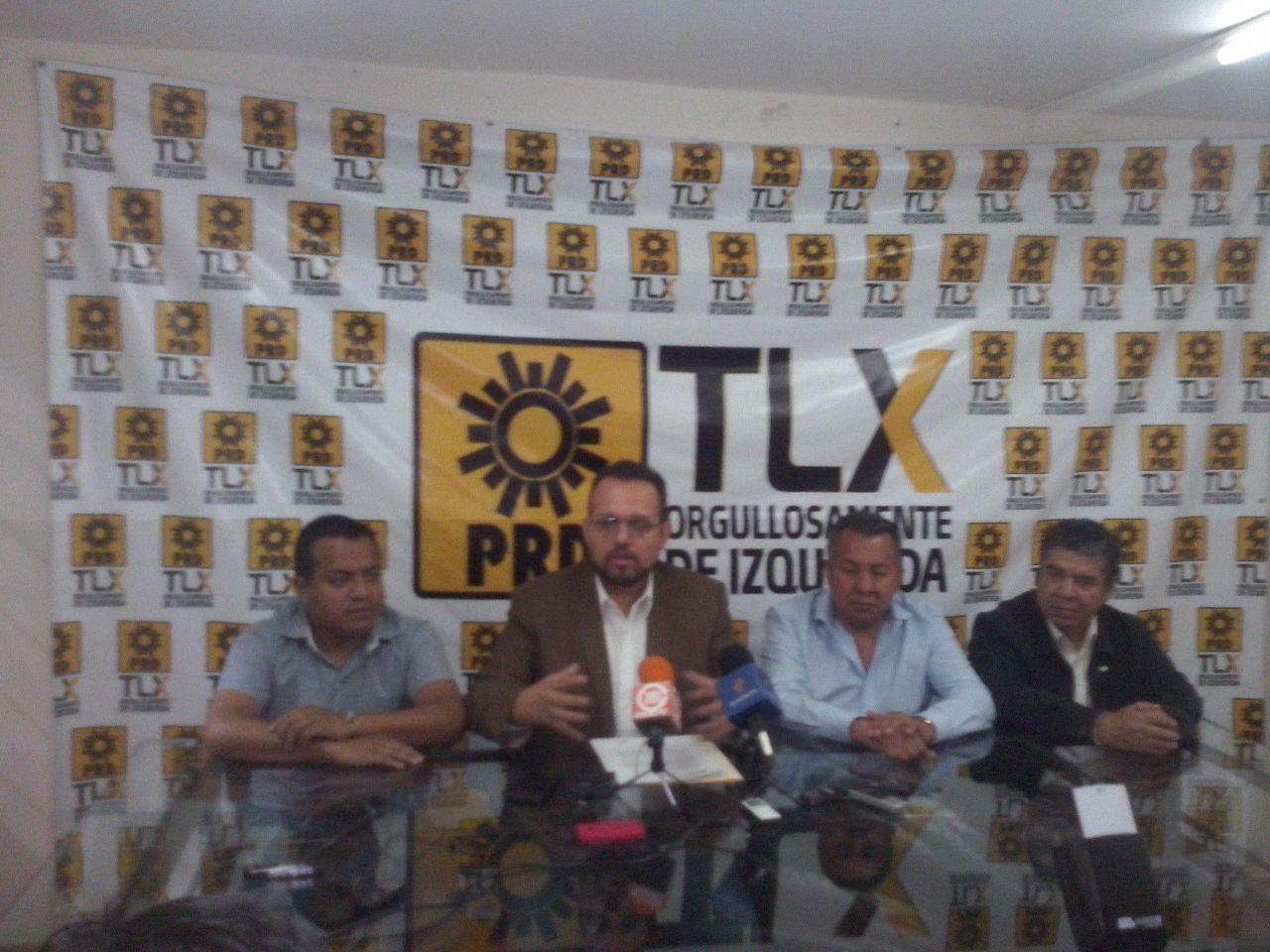 Inicia PRD acercamientos formales con partidos para construir Frente Amplio Opositor
