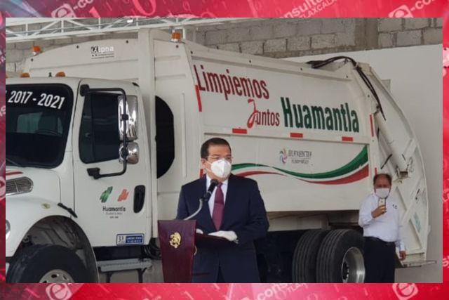 Edil de Huamantla invierte 2.3 mdp en obra de Residuos Solidos