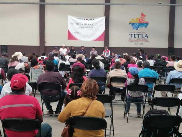 Registra Tetla 70 solicitudes para recibir apoyos en vivienda