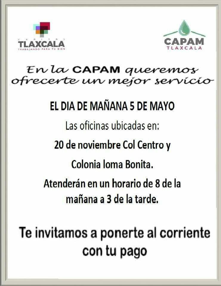 Vence el plazo para el pago de agua en Tlaxcala capital