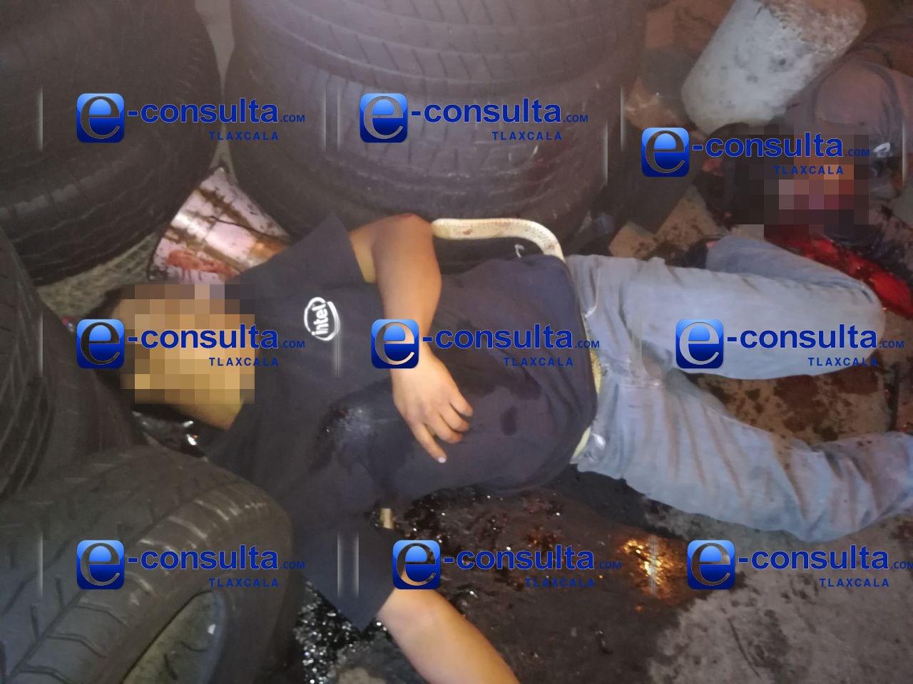 Disputa de bandas de huachicoleros deja tres personas muertas en Nativitas