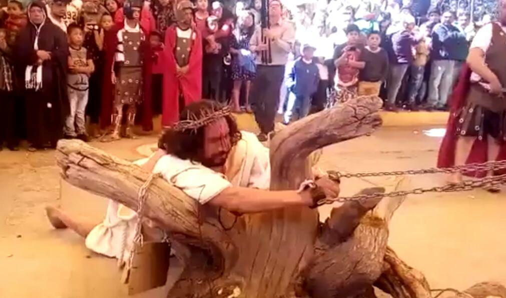 Morbo y sangre supera la fe en Semana Santa