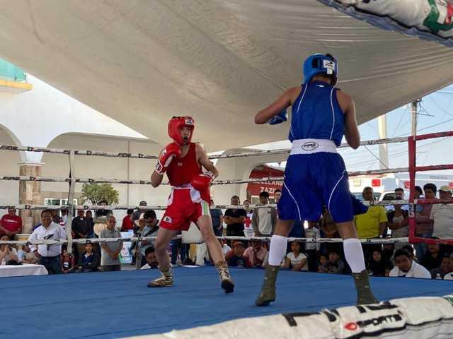 Xicohtzinco fue sede del selectivo estatal de boxeo