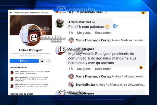 Ebrio funcionario de Españita utiliza las redes para ofender a sus gobernados