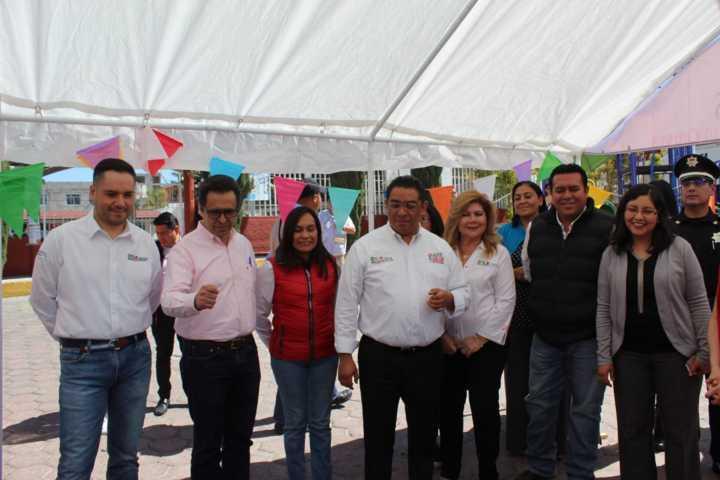 Familias de Tzompantepec se benefician con la Ruta por tu Salud