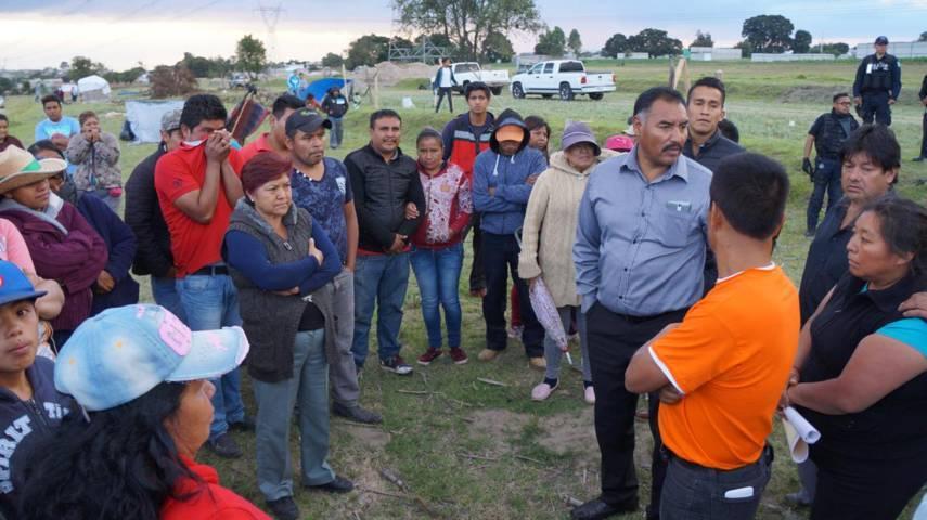Surge conflicto de tierras en San Pablo del Monte