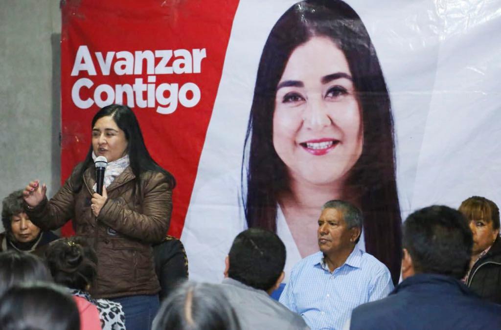 Aprovechará Anabel Alvarado hasta el último minuto para escuchar a tlaxcaltecas