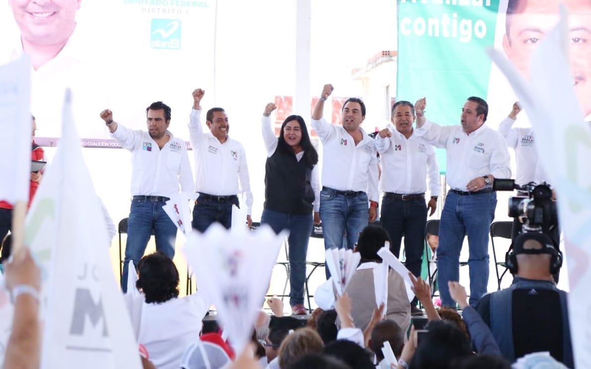 A 6 días de las elecciones, los tlaxcaltecas están listos para llevar a Anabel Alvarado al triunfo en las urnas