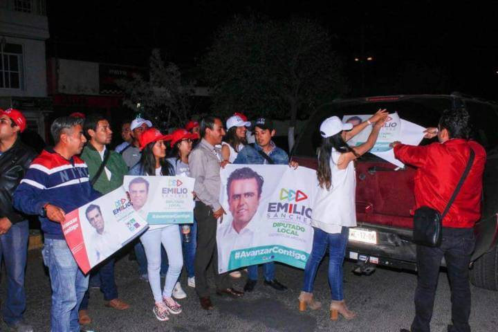Inician con fuerza campaña candidatos del PRI-PVEM-Nueva Alianza-PS rumbo a la victoria