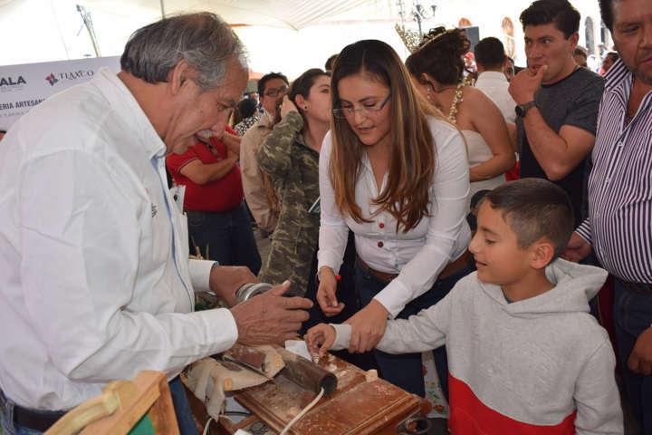 Convoca alcaldesa de Tlaxco a formar un solo equipo para impulsar a Tlaxco