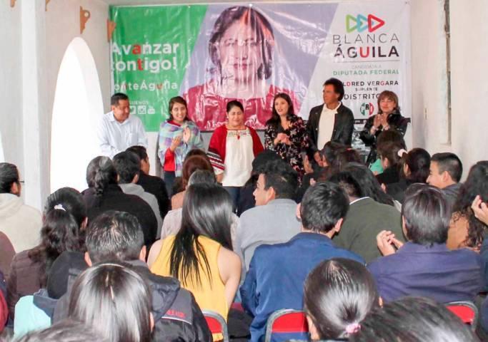 Propone Blanca Águila legislar para mejorar presupuesto de salud en Tlaxcala