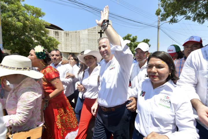 José Antonio Meade aseguró que trabajará para combatir la pobreza extrema en Oaxaca