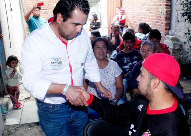 Salvaguardar la seguridad para Apizaco es la prioridad de Emilio Sánchez