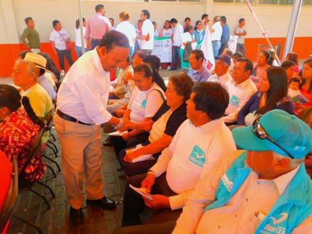 Se compromete Fidel Águila a dar resultados en el Congreso del Estado