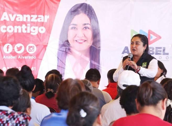 Habitantes de Contla harán equipo con Anabel Alvarado el 1 de Julio