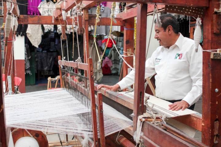 Florentino Domínguez impulsará las artesanías de Tlaxcala