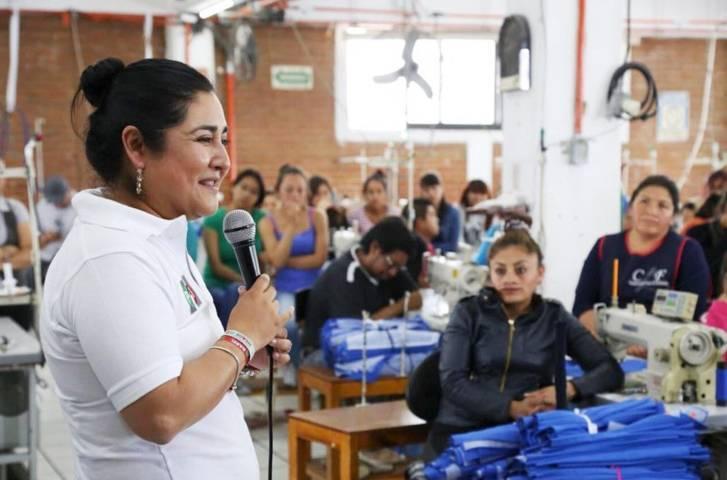 Con Huamantla Anabel Alvarado llegará a la victoria este 1 de Julio