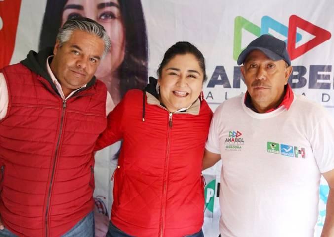 Tlaxcala tendrá mayor progreso con Anabel Alvarado en el Senado