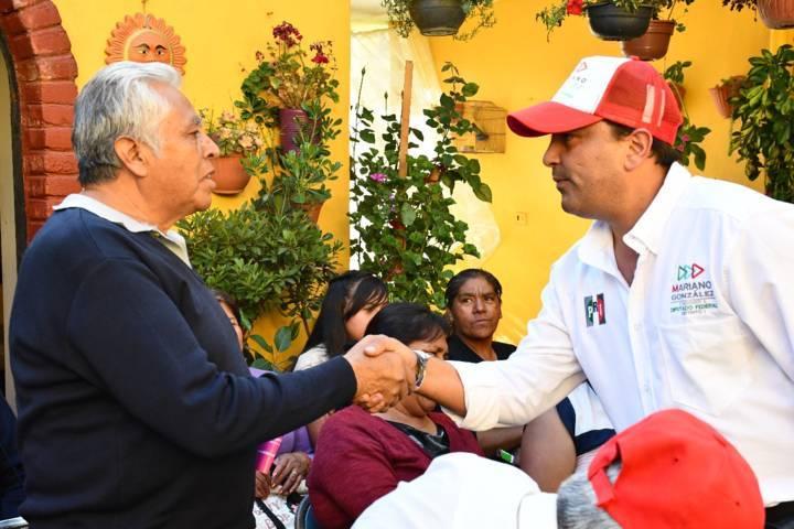 Compromisos firmes para impulsar Huamantla: Mariano González Aguirre