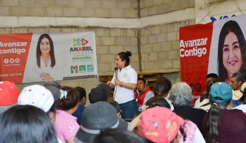 Tenemos la certeza de que el 1 de Julio ganaremos: Anabel Alvarado