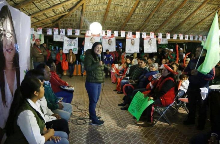 Familias del Sur llevarán al triunfo a Anabel Alvarado