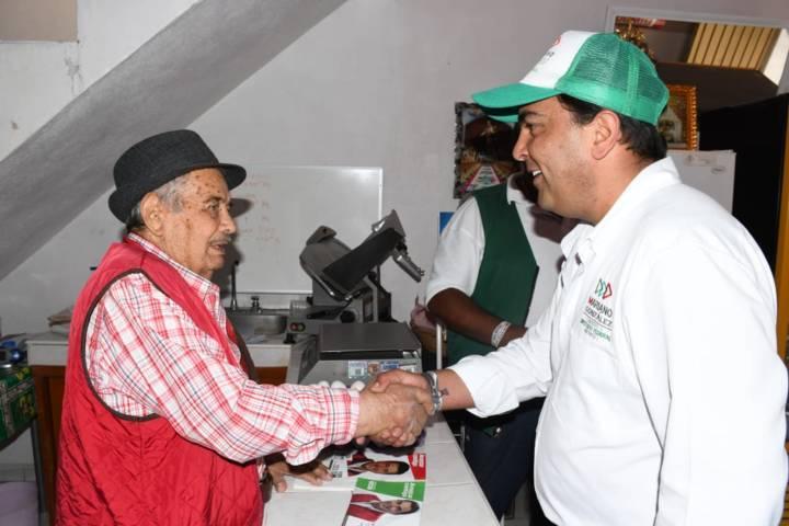 Trabajando en equipo seguiremos fortaleciendo a Huamantla: Mariano González