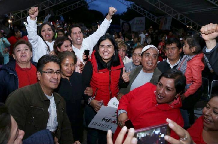 Cierran filas Anabel Alvarado en los distritos locales I y V de cara a las próximas elecciones