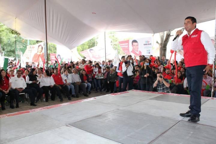 Cierra campaña Enrique Padilla y Cristina Calyccac con las mejores propuestas