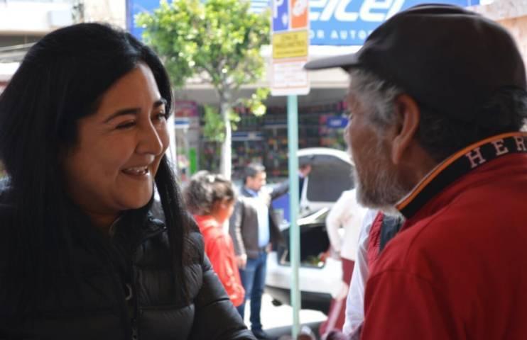 Anabel Alvarado legislará desde el Senado a favor de los comerciantes