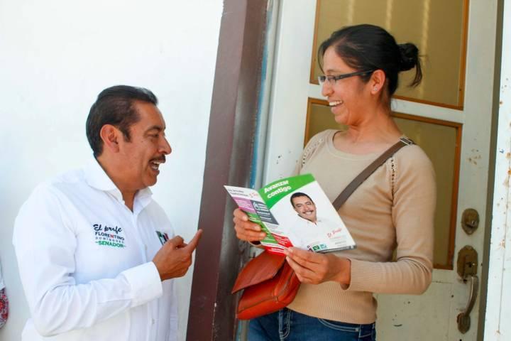 Emprenderá Florentino Domínguez acciones reales para fortalecer la economía familiar en Tlaxcala