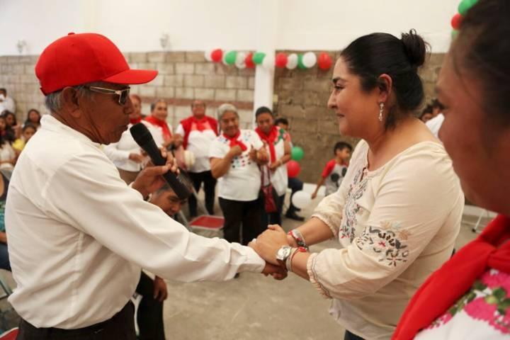 Anabel Alvarado velará desde el Senado por los derechos de las comunidades indígenas de Tlaxcala