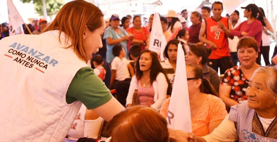 Trabajaré de la mano con los próximos diputados locales para una mejor calidad de vida: Sandra Corona