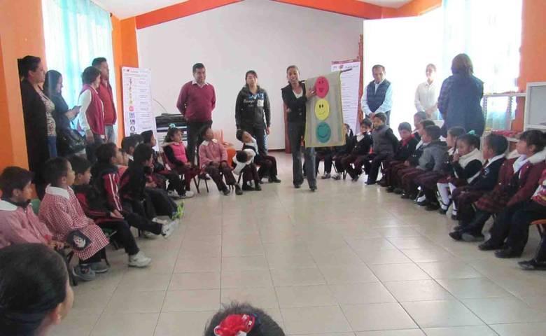 Arranca alcaldía capitalina programa Educación Vial en preescolar de Tizatlán