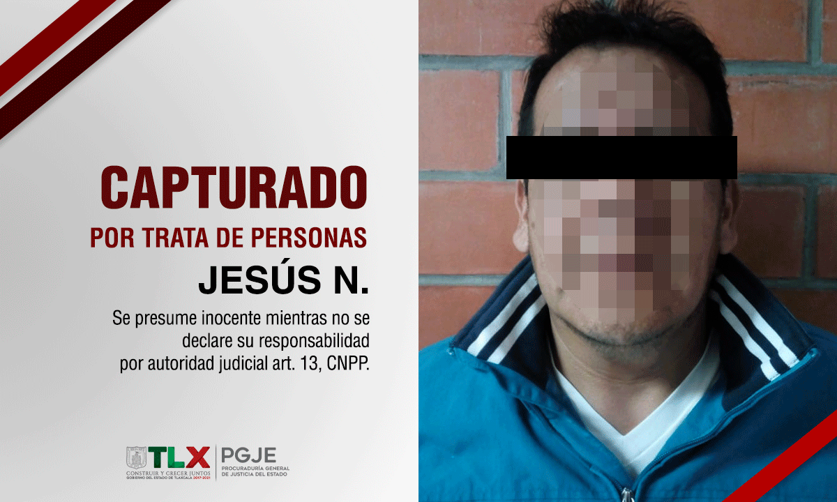 Atrapan a Padrote que operaba en Puebla y Veracruz