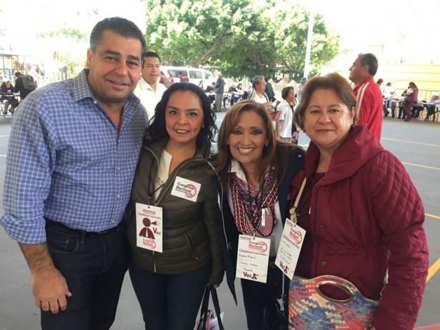 Lorena Cuéllar presente en 5to Congreso Nacional de MORENA