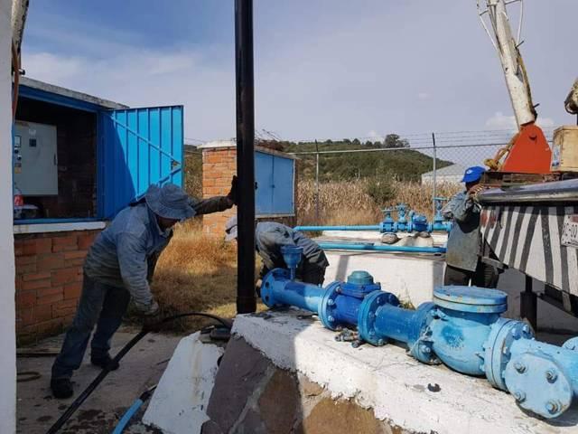 Con el cambio de bomba mejoramos el suministro y calidad del agua: alcalde
