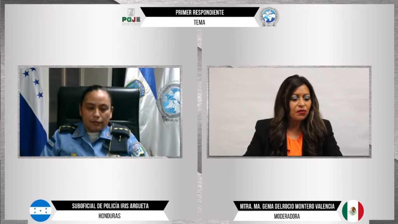 Ciclo de videoconferencias fortaleció el desempeño de las instituciones de seguridad: PGJE