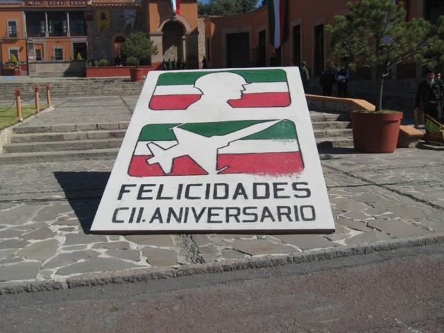 Huamantla presente en el CCII aniversario del Ejercito Mexicano