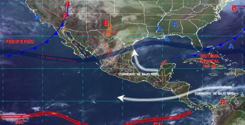 Pronóstico del tiempo en México para miércoles 3 de abril del 2019