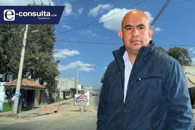 Pobladores de Amaxac se quejan de alcalde pelón