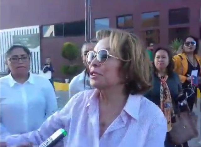 La poderosa Elba Esther declina hablar sobre gobierno de AMLO