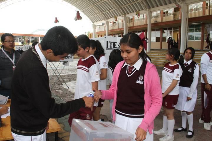 Coordinan esfuerzos comuna de Tlaxcala e ITE para elección en Técnica 1