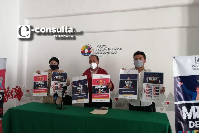 En Zacatelco se celebrará el mes de la juventud, hacen público el cartel