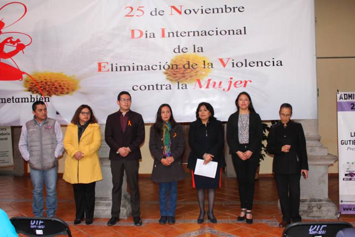 La violencia hacia las mujeres no es normal: Zarate Flores