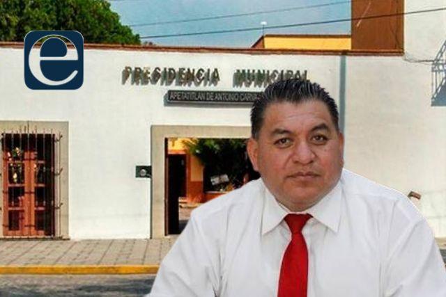 Edil amoroso de Apetatitlán corre a policías municipales sin darles finiquito