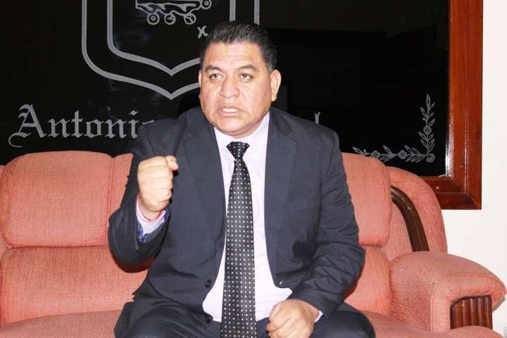 Ni corrupción ni favoritismo a funcionarios municipales: Eloy Reyes