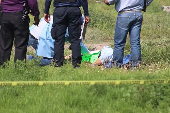 Dos ejecutados aparecen embolsados en Zacatelco