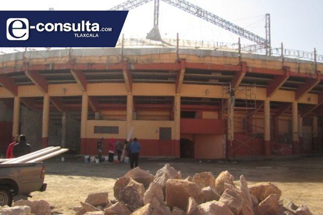 Remodelación de la plaza de toros La Taurina registra un avance del 80%